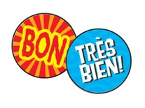 Les mots d'eloge superSpots® Stickers
