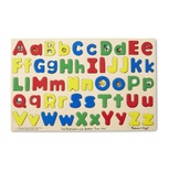 Jumbo-Sized Wood Puzzles, Upper & Lower Case Alphabet