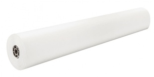 "Rainbow® Colored Kraft, 36"" x 1000' Roll, White, 40 lb."