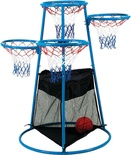 4-Rings Basketball Stand with Storage Bag