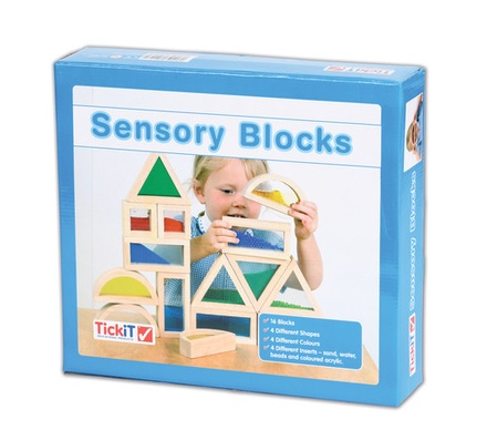 Sensory Blocks, Set of 16
