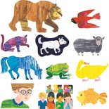 Eric Carle Brown Bear, Brown Bear, What Do You See? Flannelboard Set