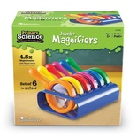 Primary Science Jumbo Magnifiers with Stand, Set of 6