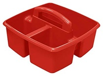 Classroom Caddy, Red, Small