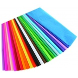"Bleeding Tissue Paper Assortment, 100 sheets, 20"" x 30"""