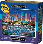 Edmonton Jigsaw Puzzle, 1000 Pieces