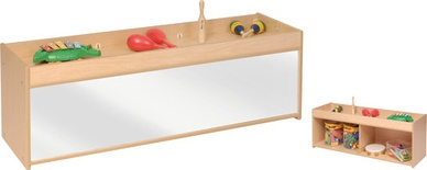 Value Line™ Toddler Storage with Mirror Back