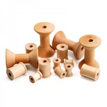 Wood Spools, Set of 72