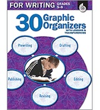 30 Graphic Organizers for Writing Grades 5-8 (Enhanced eBook)