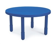 "Value Table, 36"" Round, Blue"