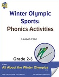 Winter Olympic Sounds - Phonics Activities Gr. 2-3 Lesson Plan