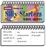Write-Abouts, Grades 4-8, Silly Starters