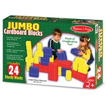 Jumbo Cardboard Blocks, 24-piece set