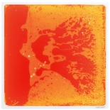 Surfloor Sensory Floor Liquid Tiles, Orange