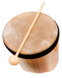 Single Bongo w/Mallet